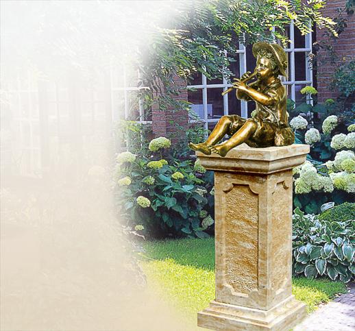 Antike Skulpturen aus Bronze  Garten  kaufen  bestellen  Shop