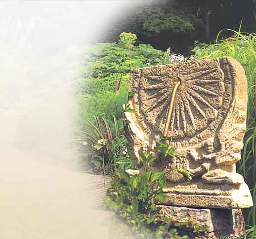 antike sonnenuhren historische sandsteinsonnenuhren