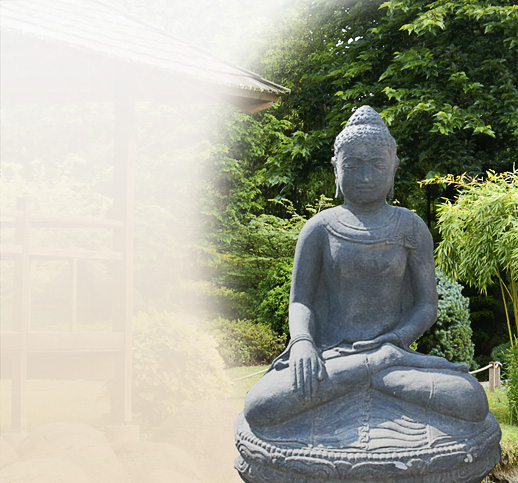buddha aus stein. Black Bedroom Furniture Sets. Home Design Ideas