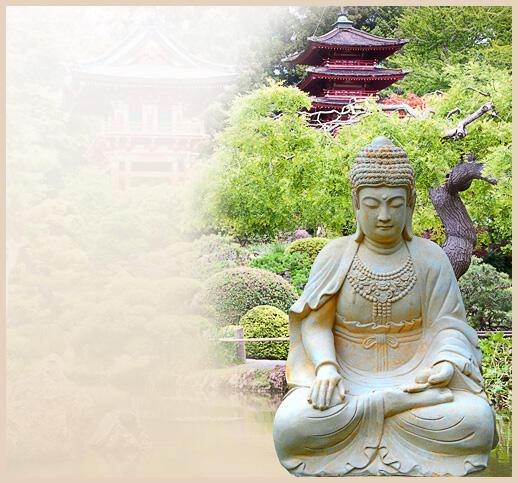 buddha statue aus stein. Black Bedroom Furniture Sets. Home Design Ideas