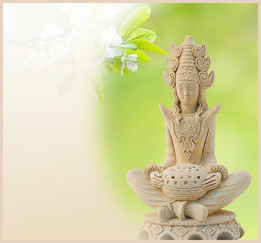 buddha figur aus stein. Black Bedroom Furniture Sets. Home Design Ideas