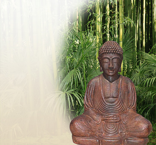 buddhastatuen aus stein kaufen online shop. Black Bedroom Furniture Sets. Home Design Ideas