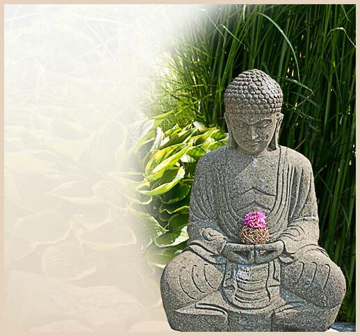 Buddha Statuen Garten: Indische Buddha Statuen