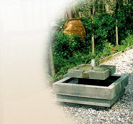 kleiner gartenspringbrunnen aus stein kaufen online shop. Black Bedroom Furniture Sets. Home Design Ideas