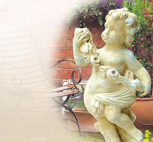 steinguss gartenstatuen gartenstatue aus stein sandsteinfiguren gartenputten statuen. Black Bedroom Furniture Sets. Home Design Ideas