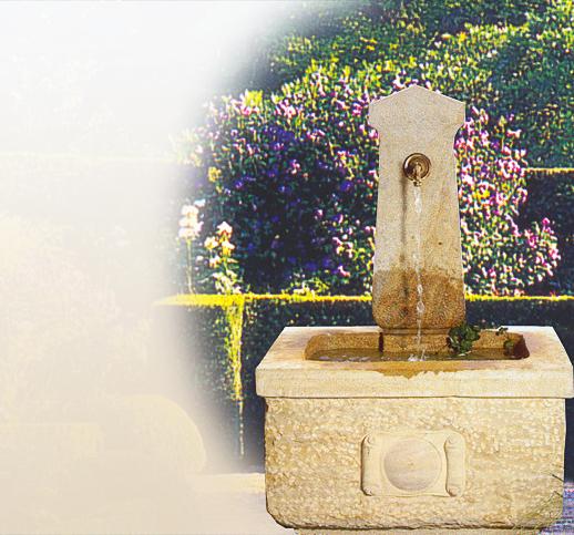 Gartenbrunnen Sandstein Verkauf