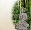 Thai Buddha Figuren Bakat: Ein Dekobuddha in stiller Meditation