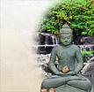 Zaitun: Buddha in stiller Meditation