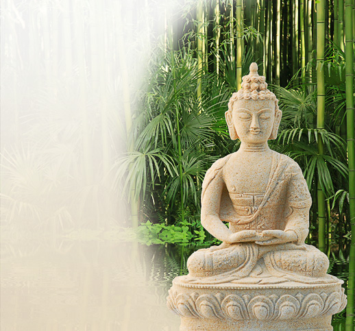 buddha statue f r den garten online im shop kaufen. Black Bedroom Furniture Sets. Home Design Ideas
