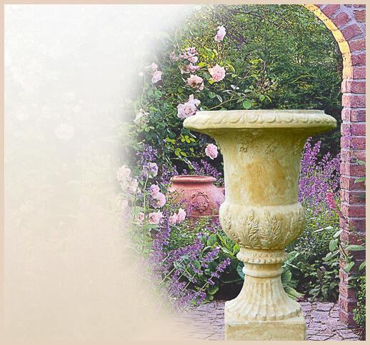 Stilvolle Gartenskulpturen