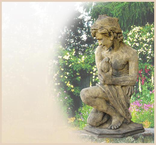 Garten statue aus stein online kaufen for Gartenfiguren aus steinguss