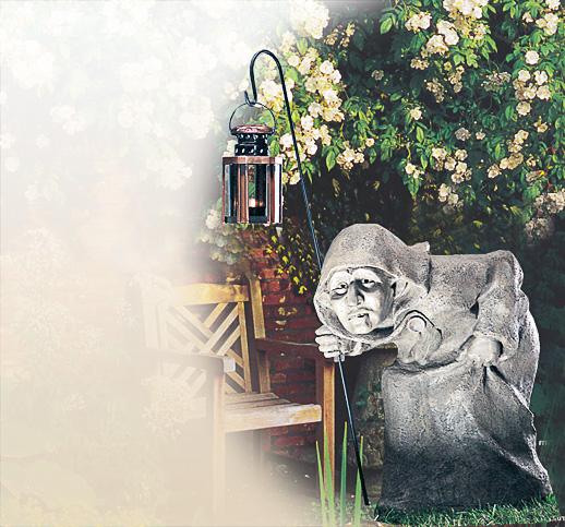 Mystische Gartenelfe Verkauf Bilder Fotos Gartenfigur