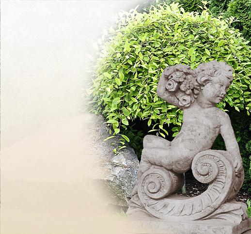 Detailansicht for Gartenfiguren aus steinguss