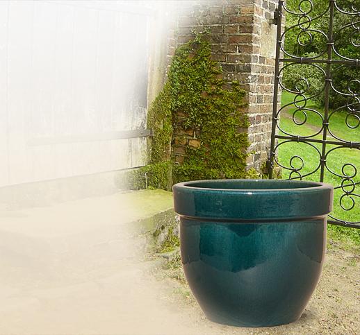 Gartent pfe terrakotta keramik stein ton for Gartenskulpturen aus ton