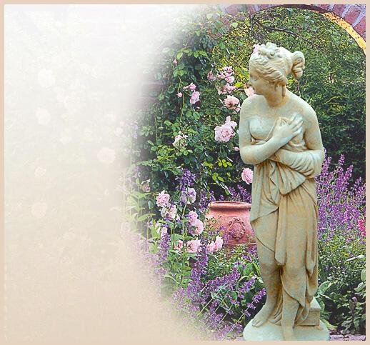 Griechische figuren und ihre bedeutung for Gartenfiguren aus steinguss