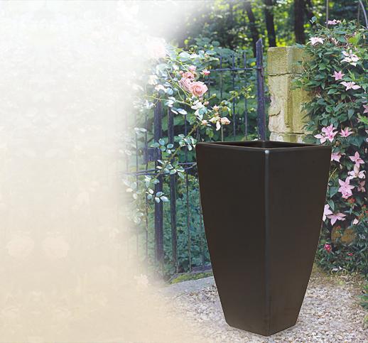 Terrasse Moderne Tage Cr Terrasse En Bois Avec Piscine: Moderne Terrakottavasen Für Den Garten