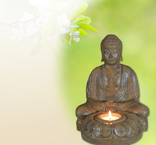 Thai Buddha Figuren aus Stein für ein Teelicht kaufen - Online Shop