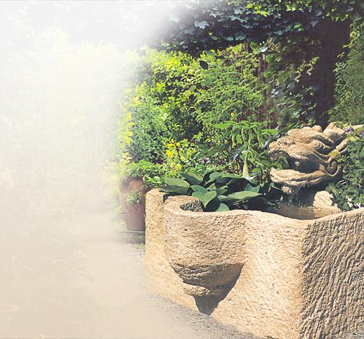 natursteinbrunnen garten, zierbrunnen für den garten aus stein | historische | sandstein, Design ideen
