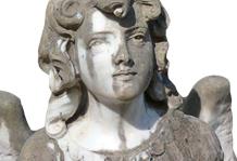 alte und antike engel skulpturen aus marmor kaufen. Black Bedroom Furniture Sets. Home Design Ideas